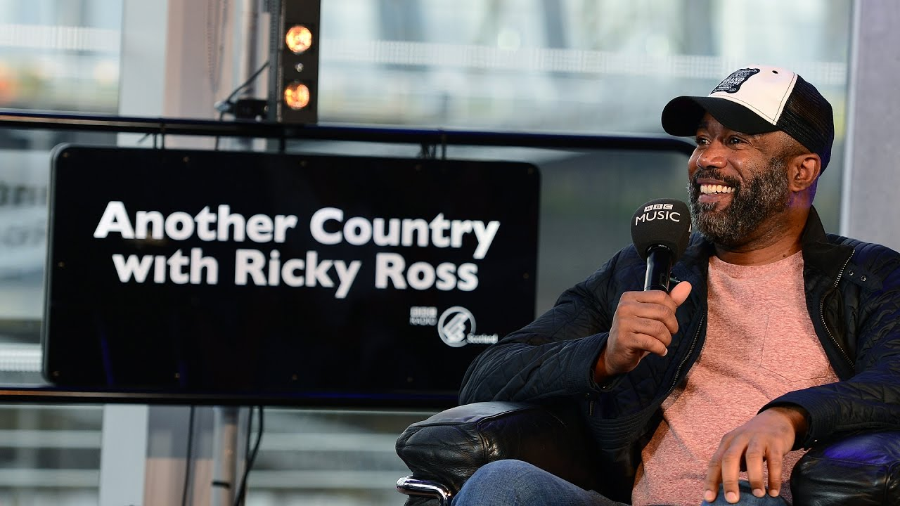Darius Rucker - Ricky Ross Interview (BBC Radio Scotland)