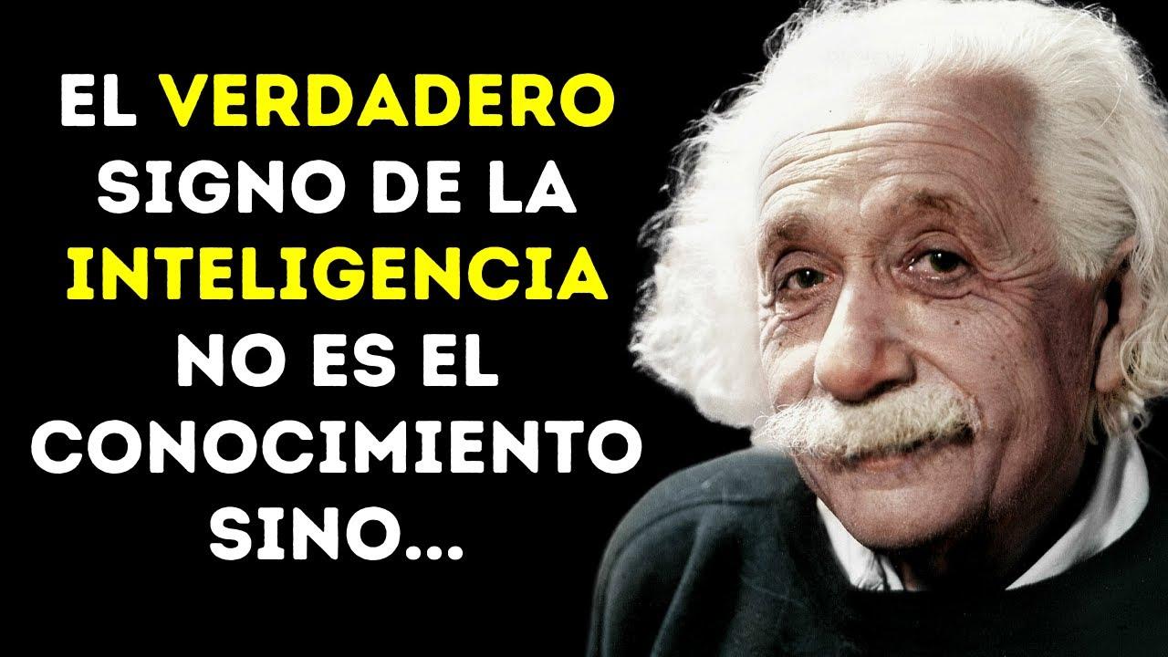 Las 100 Mejores Frases De Albert Einstein