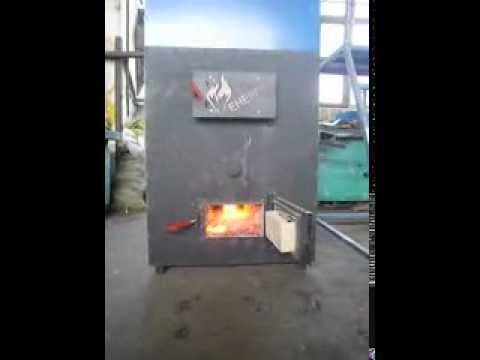 Пиролиз в теплогенераторе Дракон Энергия 100кВт