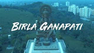Birla Ganapati Temple - Aerial Video 'Ganpati Bappa Morya'