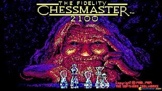 Chessmaster 2100 gameplay (PC Game, 1988)