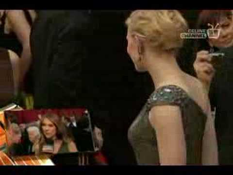 Celine Dion 79th Oscars Red Carpet (ABC USA)
