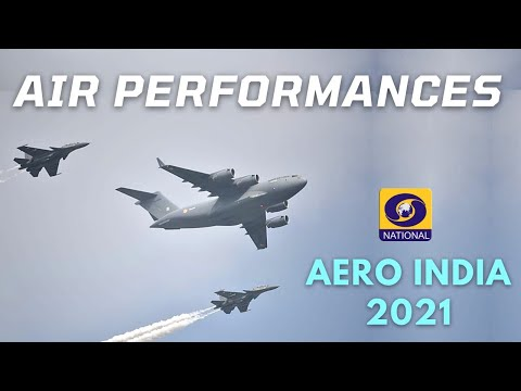 Scintillating Air Performance at  Aero India Show 2021