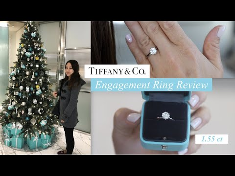 Tiffany Setting Engagement Ring Review | 1.55 ct Round Brilliant Diamond