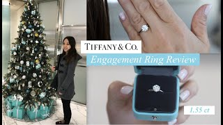 Tiffany Setting Engagement Ring Review | 1.55 ct Round Brilliant Diamond YouTube Videos