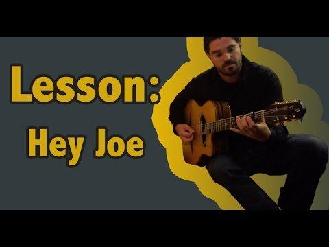 Hey Joe  Guitar Transcription