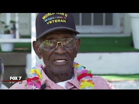 Austin's Richard Overton, Nation's Oldest Veteran, Celebrates 110th Birthday