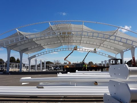 Bucklands Beach Intermediate Construction Timelapse by Shade Systems