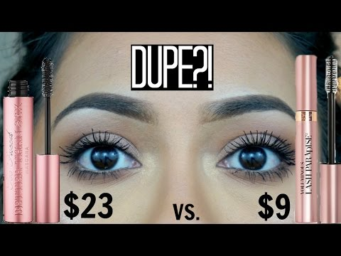 Too Faced Better Than Sex vs. L'oreal Voluminous Lash Paradise Mascara | Is it a Dupe?!