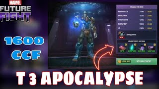 T3 APOCALYPSE SKILL ANIMATIONS AND T3 COST [ Livestream Clips]   Marvel Future Fight