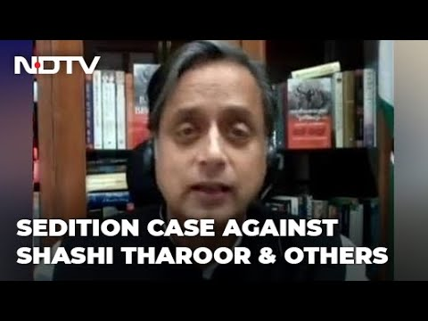 Shashi Tharoor, 6 Journalists Face Sedition For Farmers' Pro