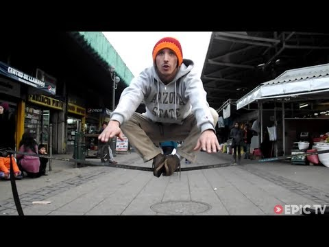 Slacklining in the Streets of Southern Chile | SlackON, Ep. 1