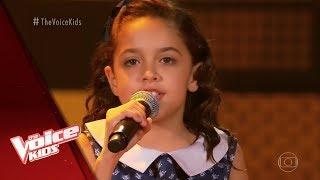 Rayne Almeida canta 'Folha Seca' nas Audições às Cegas - The Voice Kids Brasil | 5ª Temporada