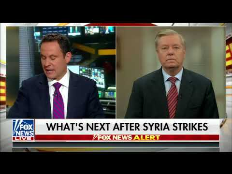 LINDSEY GRAHAM FULL ONE-ON-ONE INTERVIEW ON FOX & FRIENDS | FOX NEWS (4/16/2018)