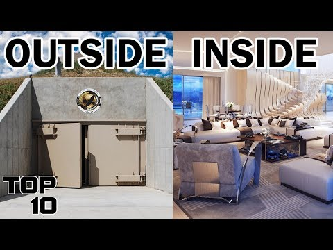 Top 10 Insane NUCLEAR Bunkers