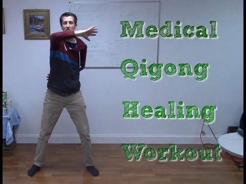 Medical Qigong Workout- MQP Practitioner P1 2018 -Prescription  Exercises-Daoist 5 Yin Exercises