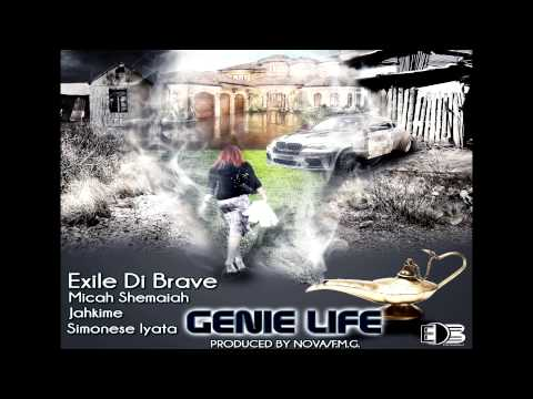 GENIE LIFE  - eXile di brave feat  Micah Shemaiah , Jahkime, Simonese