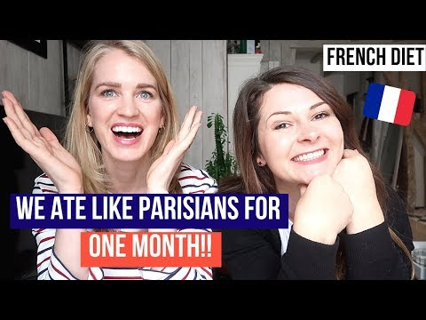 FRENCH WOMEN DIET CRASH TEST: Our Results!! Parisian Diet Challenge