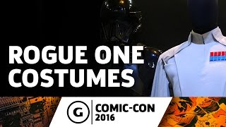 Up Close With Star Wars: Rogue One Costumes at Comic-Con 2016