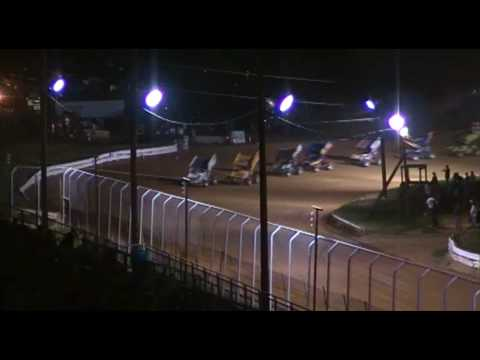 Port Royal Speedway 410 Sprint and Super Sportsman Racing Highlights 5-1-10