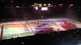 Red Wings 2015 pregame playoff projection show