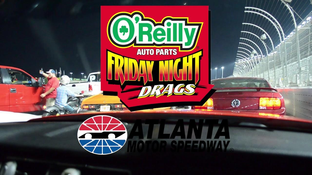 Vlog 006 friday night drags at atlanta motor speedway for Atlanta motor speedway fair 2017