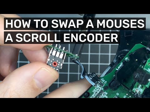 How to swap and fix your mouse's Scroll Encoder! Fix broken scrolling in your gaming mouse!