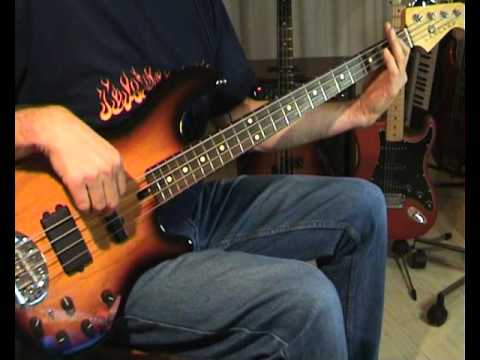 Bon Jovi - Bed Of Roses - Bass Cover