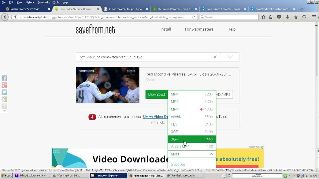 cara download di youtube tanpa idm