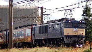 EL上越線美食旅号 EF641051+14系レトロ客車 9732レ