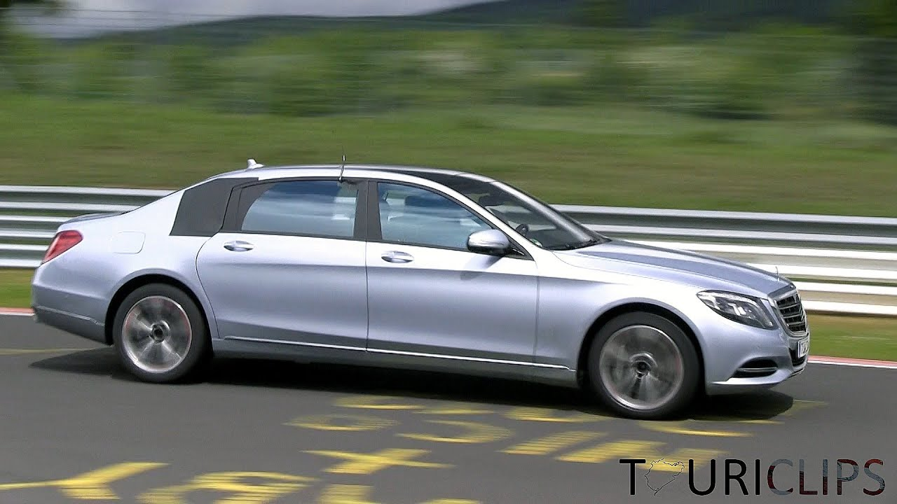 2015 mercedes benz maybach 39 s class lwb 39 spied testing on the n rburgring youtube. Black Bedroom Furniture Sets. Home Design Ideas