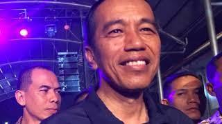 Ebiet G Ade terkejut, Konsernya Ditonton Pak Jokowi.
