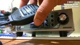A Quick Look At HamBuilder HBR4HF 4 Bands HF Transceiver