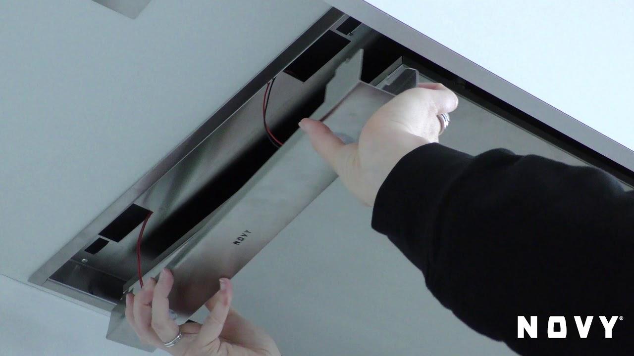 Novy Pure Line Remplacer La Lampe A Led Youtube