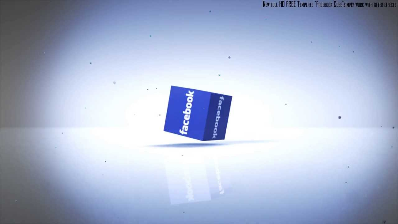 Awesome free download template intro facebook cube after awesome free download template intro facebook cube after effects file youtube pronofoot35fo Images