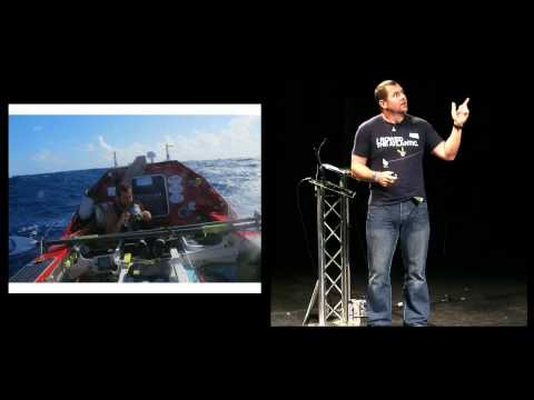 John Haskell of Atlantic Dash at TEDxCardiff 2012