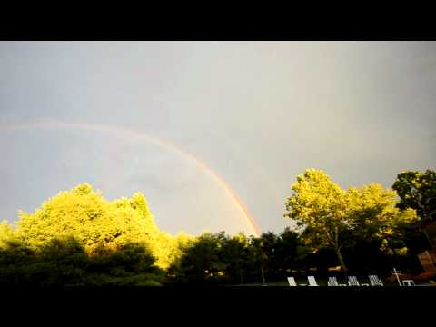 double rainbow in Tabernacle, NJ