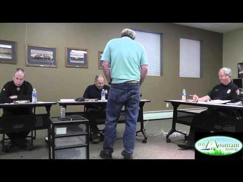 Elk Creek Fire Department BOD Meeting March 2014