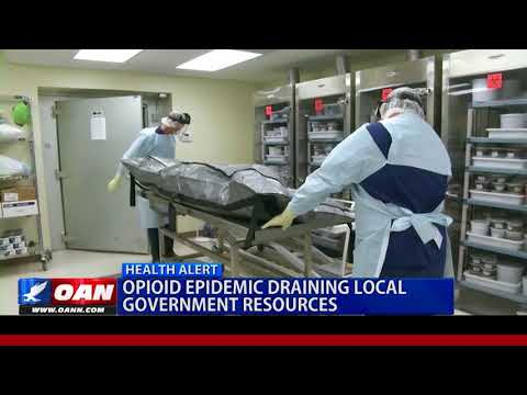 Opioid Epidemic Draining Local Government Resources