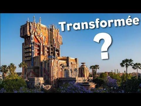 Transformation De La Tour De La Terreur à Disneyland Paris Youtube