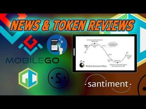 Santiment Trading Data - Mobile Go - GameCredits Virtual Marketplace