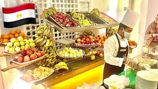 ШВЕДСКИЙ СТОЛ В ЕГИПТЕ 🔥 Горы фруктов Обед в отеле Desert Rose. Туристов очень много