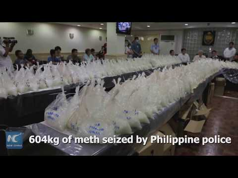 604kg of meth seized! China, Philippines jointly bust drug trafficking ring