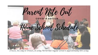 Parents Nite Out Covid-19 Edition