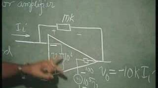 Lecture - 8 Operational Amplifier in Negative Feedback