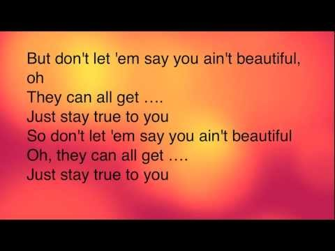 Beautiful Eminem- Clean- Lyrics