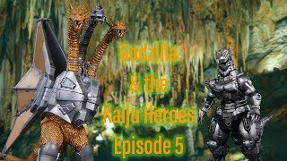 Godzilla and the Kaiju Heroes Episode 5 The Big Battle