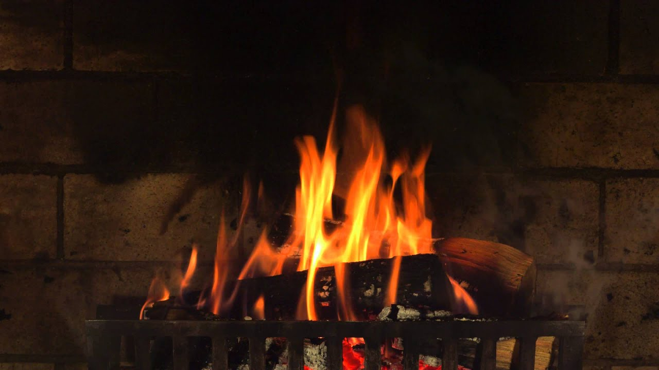 fireplace yule log in 4k 6 hours youtube