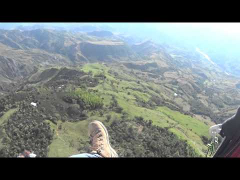 "PARAGLIDING FLIGHT REVIEW ""LA MERCED CALDAS"" COLOMBIA"