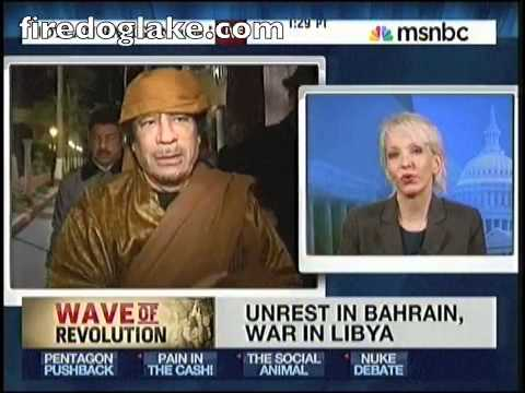 Jane Hamsher: Lack of foreign policy makes U.S. commitment to Libyan democracy look hollow